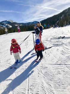 First Family Ski Day