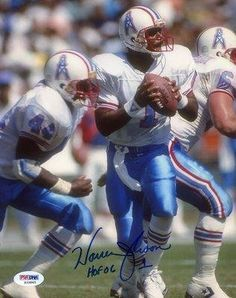 Warren Moon Signed Houston Oilers Photo - HOF 06 for sale online Houston Texans Football, Houston Oilers, Nfl Football, Football Players, Warren Moon, Nfl Hall Of Fame, Nfl Photos, School Images, Entertainment Video