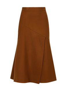 ЮБКИ Buy at discount Sportmax brown wool midi skirt - sale in Bosco Outlet you can find similar pins below. We have brought the best of the f. Skirt Pants, Dress Skirt, Midi Skirt, Casual Work Outfits, Trendy Outfits, Hijab Fashion, Fashion Dresses, Mens Fashion, Western Wear For Women