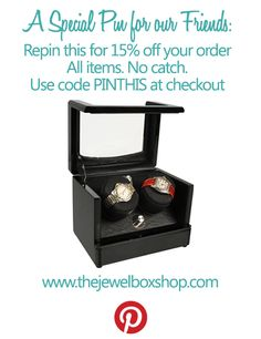Pin this for 15% your entire order.  No catch, just 15% off any order.  Use code: PINTHIS at checkout