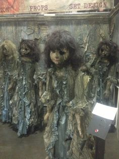 mid west haunters convention - pictures! Inspiration for creepy dolls Halloween