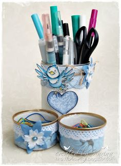 Whiff of Joy - Tutorials & Inspiration: Pen Holder