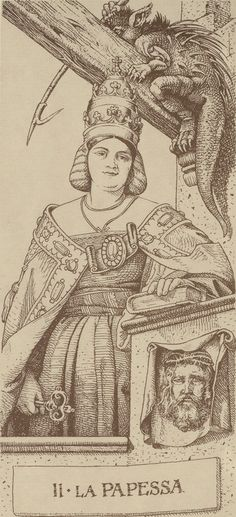 Arcane II : La Papesse - Le Tarot d'Albrecht Dürer