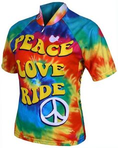 4a13bc5f5 World Jerseys Womens Moon Beam Cycling Jersey Rainbow Medium   Click on the  image for additional