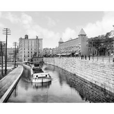 Erie Canal, c1903