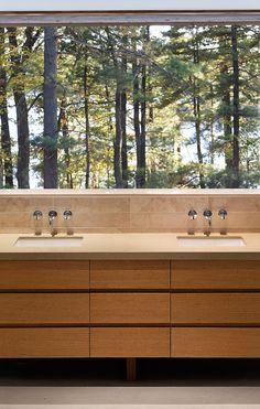 Vivienda en el bosque canadiense de TACT Architecture