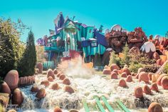 Parques de Orlando Island of Adventure Dudley Do-Right's Ripsaw Falls