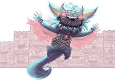 Incríveis ilustrações de Arthur Mask
