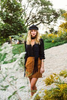 Free people, the fall report, free people fisherman hat, greek fisherman hat, suede skirt, skinny scarf,