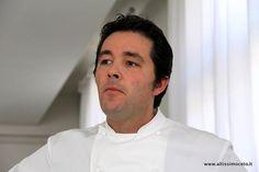 Chef Davide Palluda at the restautant All'Enoteca One Star Michelin, Canale (Piedmont). Alias Altissimo Ceto!