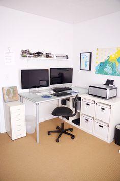 Zero Budget Project: The Office Mini Office, The Office, Office Furniture, Office Decor, Iphones For Sale, Mac Mini, I Still Love You, Desk Setup, My Dream Home