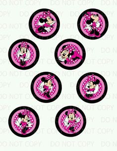 Pink mini toppers