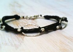Sterling 3 Ring Bracelet  by Artesano Jewels
