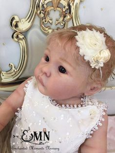 Enchanted Moments Nursery~ Reborn Toddler Doll~ Lilli-Marlaine by Sylvia Manning