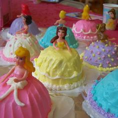 Cupcakes for princesses!