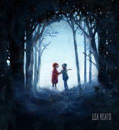 Children's Book Illustration, Illustrations, Alter, Girl Crushes, Childrens Books, Lisa, Artists, Tattoos, Garden