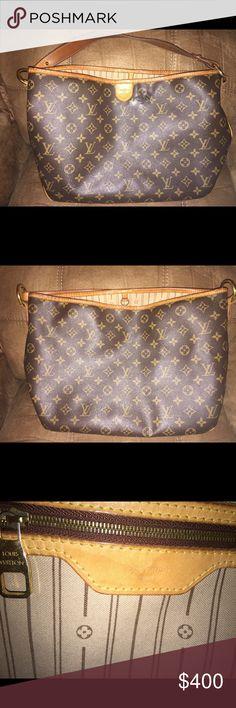 Louis Vuitton purse- Delightful PM Great condition Louis Vuitton. Front of purse has a nick. Other than that purse is great. Louis Vuitton Bags Shoulder Bags
