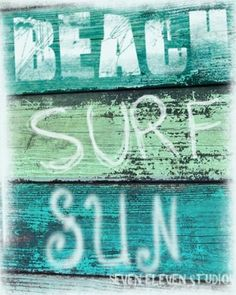 beach ~ surf ~ sun = LOVE!