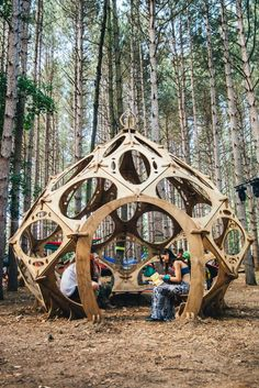 New Ideas music festival decorations electric forest Forest Festival, Electric Forest, Electric Daisy, Dome House, Raves, Stage Design, Festival Decorations, Land Art, Installation Art