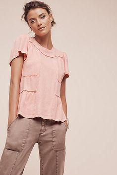 Casual Friday Tee #anthropologie