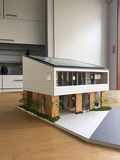 Conceptual Model Architecture, Maquette Architecture, Architecture Model Making, Concept Architecture, Interior Architecture, Roof Design, House Design, Casa Medieval Minecraft, Sims House