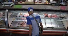 Desde 2 mil bolívares está cotizado el precio del kilogramo de carne en los mercados de Quinta Crespo y Guaicaipuro. No obstante, los carteles aún indican