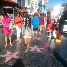 Walk of Fame / Calle de las estrellas  #Hollywood