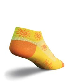 Sock Guy Sunshine Low Cut Novelty Sock Where would the Earth be without Sunshine to make the Four Elements on Earth possible in the first place? Bright and Pretty Sock to wear!