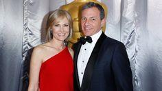 Walt Disney chairman Robert Iger and wife Willow Bay