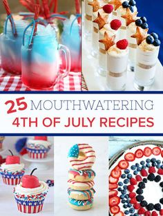 25 Mouthwatering 4th Of July Desserts