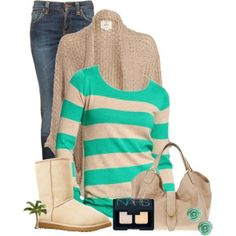 green+beige
