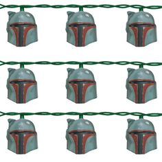 Star Wars Boba Fett Helmet Light Set. What does this even mean. I can't even.