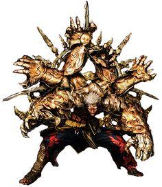 Six Armed Mantra Asura by superkaijuking