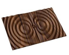 Decorative abstract 3D relief sculpture model for CNC