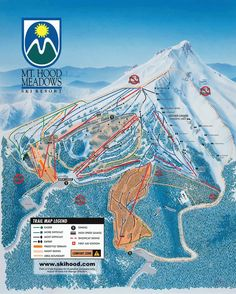 Mount Hood Meadows riding guide - World Snowboard Guide