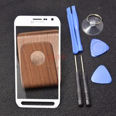 """White For 5.1"""" Samsung Galaxy S6 active SM-G890 Front Glass Screen + Tools…"""