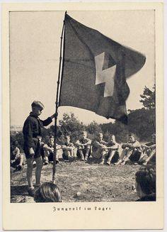 Hitlerjugend postcard