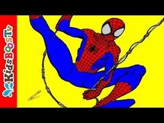 Spiderman Coloring Pages Learn Educational Computer Book Games