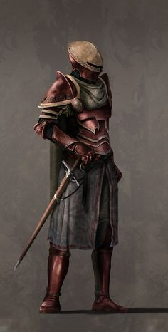 f Fighter Plate Armor Helm Sword lwlvl yves-antoine-nunez-godoy-royal-guard-bonemold. Fantasy Art Warrior, Fantasy Armor, High Fantasy, Medieval Fantasy, Fantasy Inspiration, Character Inspiration, Character Portraits, Character Art, Illustration Fantasy
