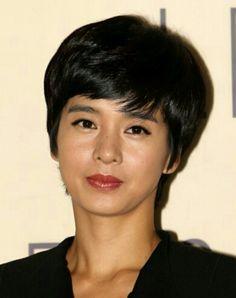Korean actress, Jung hye young's nice short cut hairstyle.  배우, 정혜영의 숏컷트 헤어스타일