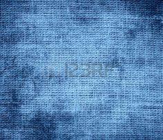 Grunge background bleu gris de toile de jute texture Banque d'images