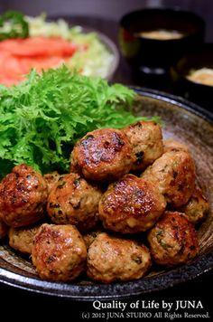 きのこたっぷり肉団子|レシピブログ