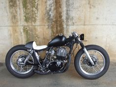 Something between a bobber and a cafe racer - by Triumph Motorcycles