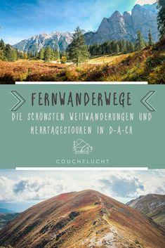 Lerne die schönsten Weitwanderungen, Fernwanderwege und Mehrtagestouren in Deutschland, Österreich und der Schweiz kennen!  Top-Reise- und Outdoorblogger verraten Dir ihre Geheimtipps. Lass Dich inspirieren von Top-Weitwanderwegen, wie z.B. dem Goldsteig, der Alpenüberquerung E5, einer Zugspitzumrundung & vielen weiteren Treks.  #weitwandern #weitwanderung #weitwanderweg #fernwandern #fernwanderung #fernwanderweg #wandern #mehrtagestour  Wandern Österreich | Wandern Deutschland | Wandern Schweiz Camping Am See, Tent Camping, Hiking Places, Thru Hiking, Great Hotel, Top Destinations, Cabin Rentals, Germany Travel, Business Travel