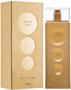 Make me Fever Gold é uma deliciosa fragrância inspirada em Chloé Eau de Parfum, assim como Moment de Bonheur da Yves Rocher, que eu já tenho e pelo qual sou apaixonada.