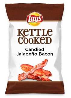 Wouldn't Candied Jalapeño Bacon be yummy as a chip? Lay's Do Us A Flavor is back, and the search is on for the yummiest flavor idea. Create a flavor, choose a chip and you could win $1 million! https://www.dousaflavor.com See Rules.
