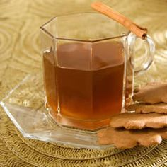 1/4 cup maple syrup, 2 cinn sticks, 6 whole cloves, 6 whole allspice berries, 1 orange peel, cut into strips      1 lemon peel, cut into strips  Pour apple cider syrup into a saucepan. Place cinn sticks,cloves, allspice berries, orange peel in the center cheesecloth; fold up sides of the cloth, tie it up. Drop it into the cider mixture.heat over moderate heat for 5 to 10 minutes do not boil Discard spice bundle