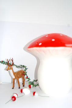 Heico Large mushroom lamp #heico #mushroom #nightlight