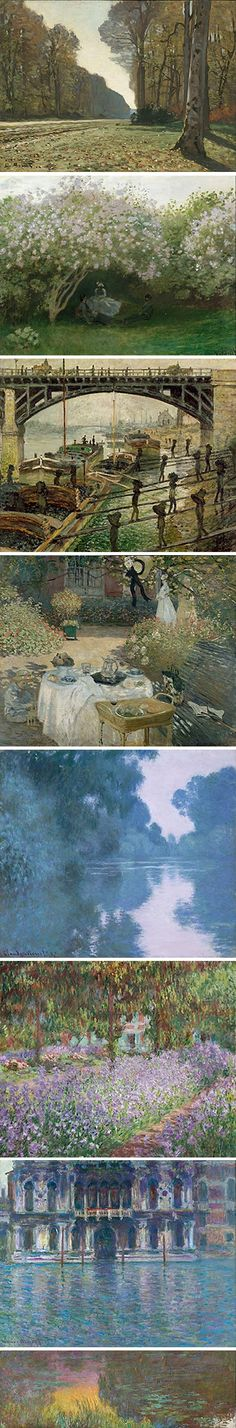 Monet. Impressionist's use of color and rendition of light has always fascinated me... one day I'll get there.
