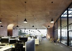 Daum Space by Mass StudiesSouth Korean firm Mass Studies developed a system of five concrete modules for building South Korea's answer to California's Silicon Valley, starting with this flexible headquarters building for internet company Daum